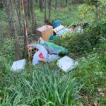 Boville Ernica – Ennesimo abbandono dei rifiuti in località Tiro a segno.