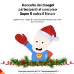 Oltre 600 disegni per il concorso nazionale Super B salva il Natale.