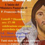 Ponza (LT), Inizio del ministero pastorale di padre Francesco Bishay.