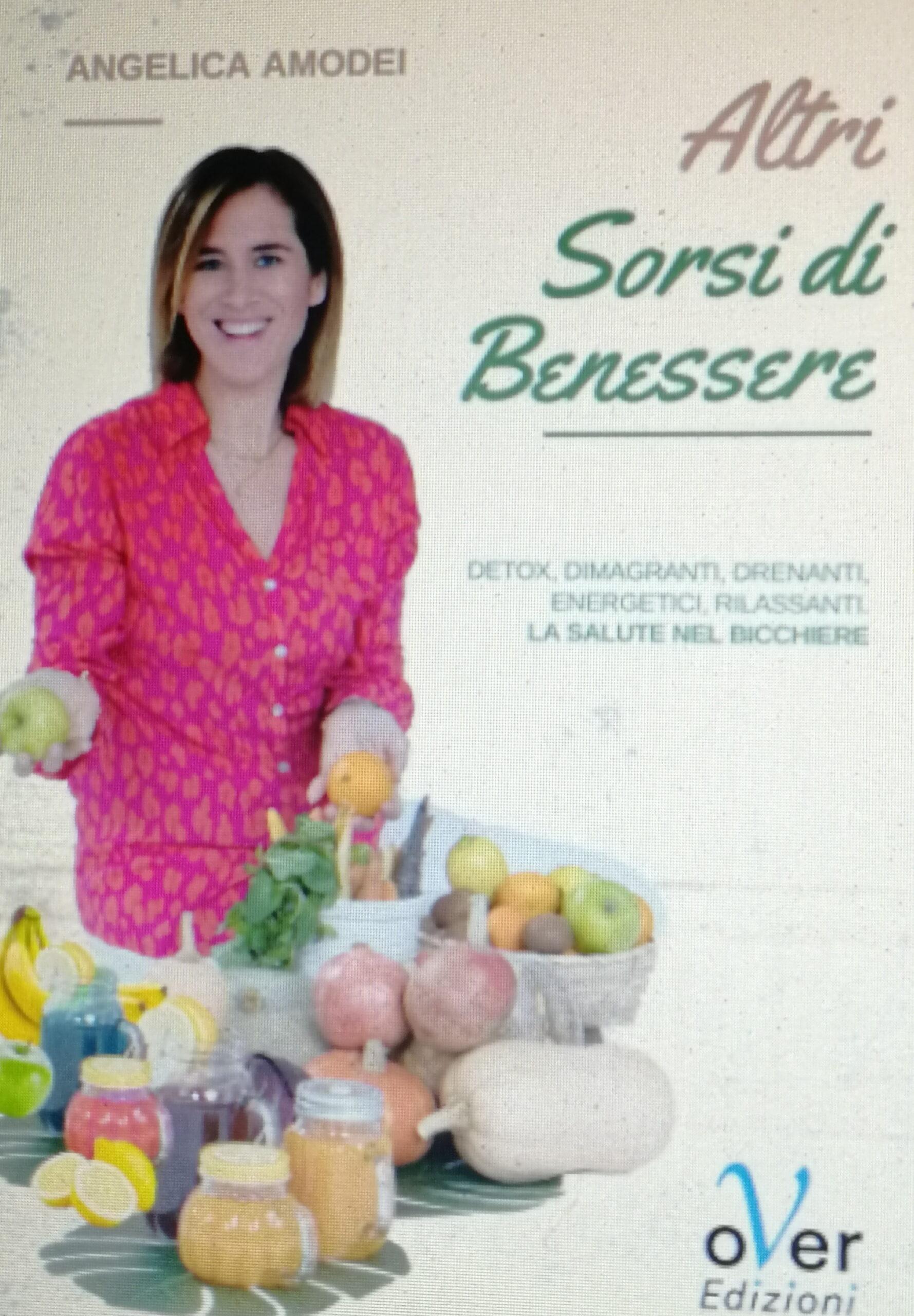 """Esce il libro """"Altri sorsi di benessere"""" edito da oVer Edizioni."""