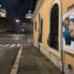 Roma: la Street Artist Laika e la sua nuova opera Es Ley! per celebrare la legalizzazione dell'aborto in Argentina.