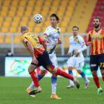 Lecce-Frosinone 2-2.