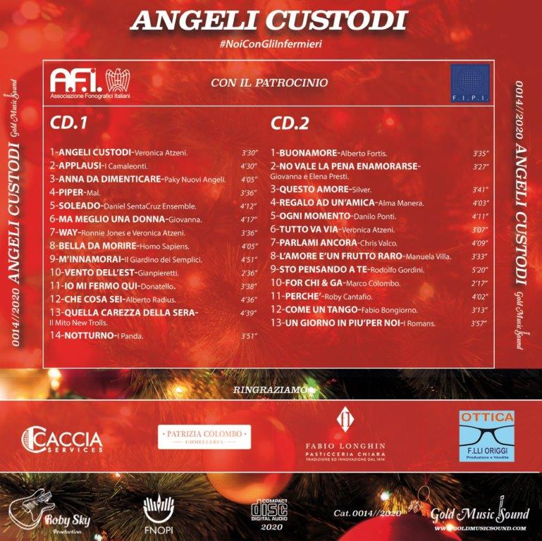 """""""ANGELI CUSTODI"""" - Tanti big della musica italiana insieme in un doppio cd."""