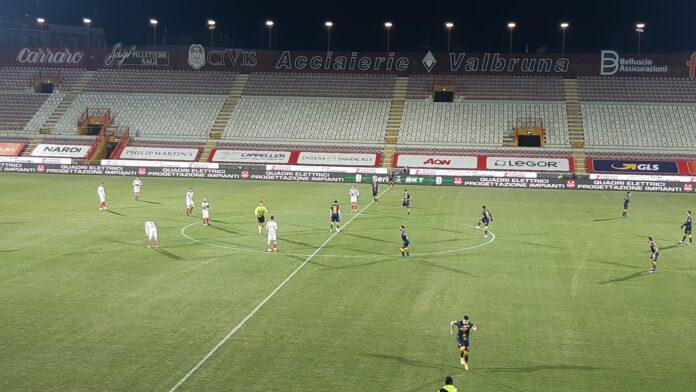 Vicenza-Frosinone 0-0.